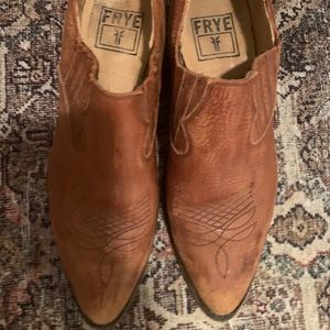 Frye Ankle Western Boots